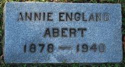 Annie L Nannie <i>England</i> Abert