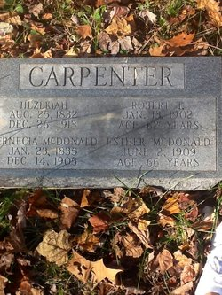 Esther <i>McDonald</i> Carpenter