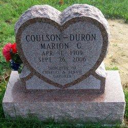 Marion V. <i>Gardner</i> Duron