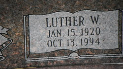 Luther W. Coomer