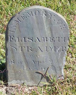 Elizabeth Mary <i>Byrd</i> Strader