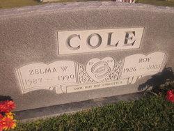 Zelma Maxine <i>Waters</i> Cole