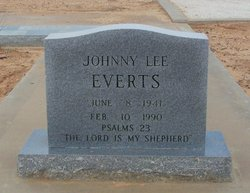 Johnny Lee Everts
