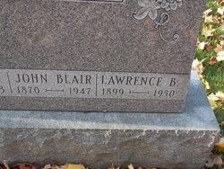 Rev Lawrence Blair Gilmore