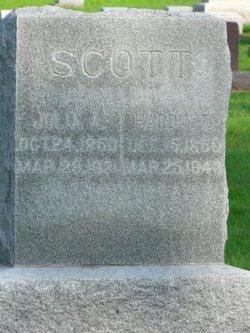 Julia Ann <i>Dorsey</i> Scott