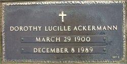 Dorothy Lucille <i>Sowers</i> Ackermann