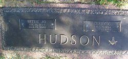 Bettie Jo <i>Hutchinson</i> Hudson