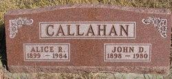 Alice Ruth <i>Kunze</i> Callahan