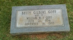 Betty <i>Gilbert</i> Goff