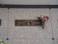 Harry A Ashburn