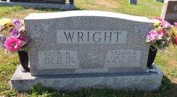 Cecil H Wright