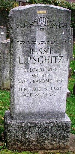 Bessie <i>Okin</i> Lipschitz
