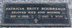 Patricia <i>Britt</i> Boudreaux
