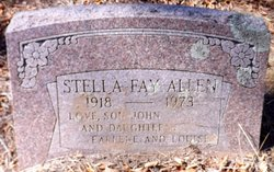 Stella Fay Allen