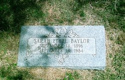 Sarah Ethel Baylor
