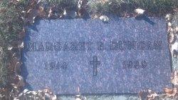 Margaret E Duncan