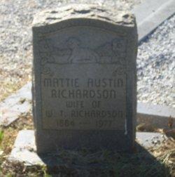 Mattie <i>Austin</i> Richardson