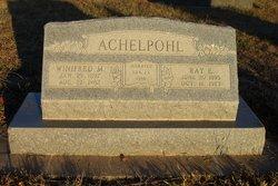 Winifred Mary <i>Larrance</i> Achelpohl