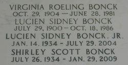Virginia Amelia Claire <i>Roeling</i> Bonck