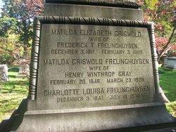 Matilda Elizabeth <i>Griswold</i> Frelinghuysen