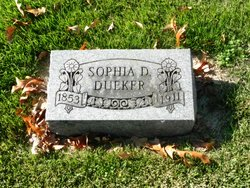Sophia Dora <i>Burmeister</i> Dueker