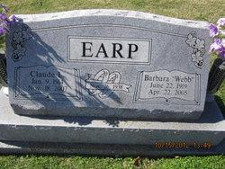 Barbara <i>Webb</i> Earp