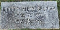 Rhodus Talbert Beacham