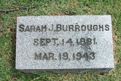 Sarah J <i>Lewis</i> Burroughs