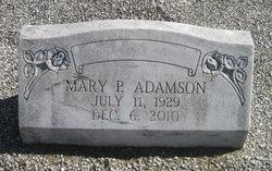 Mary P. Adamson