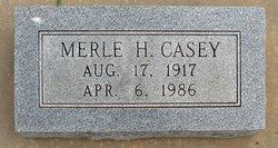 Merle H Casey