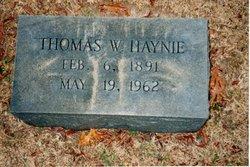 Thomas Watson Haynie
