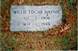 Willie Edgar Haynie