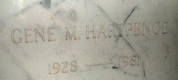 Eugene Martin Gene Hartpence