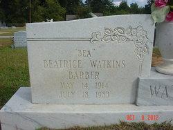 Beatrice Bea <i>Watkins</i> Barber
