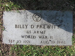 Billy Dean Prewitt
