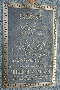 Shirin H Z Alizoi