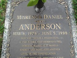 Marence M D <i>Daniel</i> Anderson