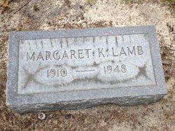 Margaret K Lamb