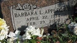 Barbara Lou <i>Cole</i> Applegate