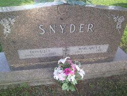 Margaret Letha <i>Cook</i> Snyder