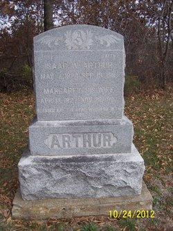 Margaret <i>Taylor</i> Arthur