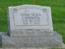 Anna V <i>Schaaf</i> Cannon