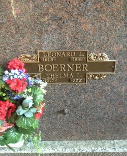 Leonard L Dick Boerner