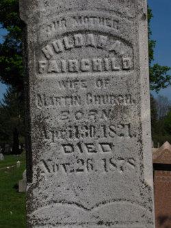 Huldah A. <i>Fairchild</i> Church