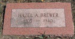 Hazel A <i>Pounds</i> Brewer