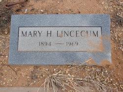 Mary Hadley <i>Anthony</i> Lincecum