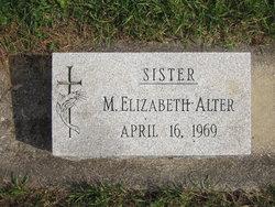 Sr M. Elizabeth Alter