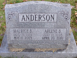 Arlene <i>Priest</i> Anderson