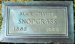 Alice Charity <i>Oswald</i> Snodgrass
