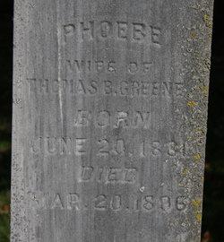 Phoebe <i>Dye</i> Greene